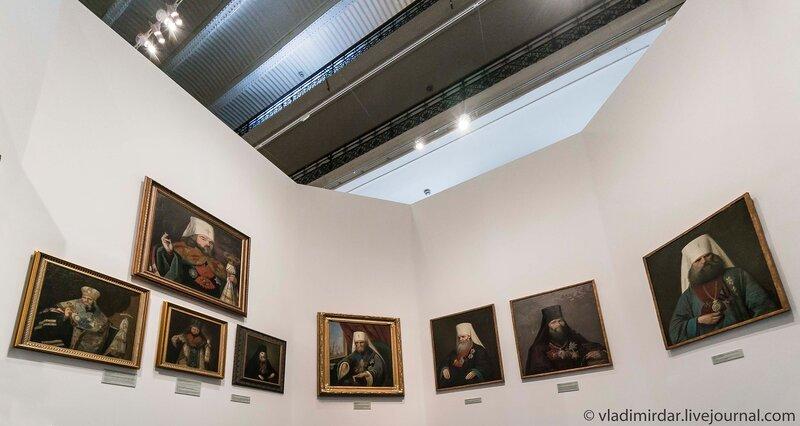 Портретная галерея московских митрополитов