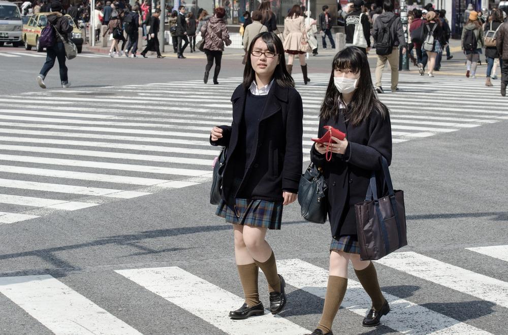 голые японки в школьной форме