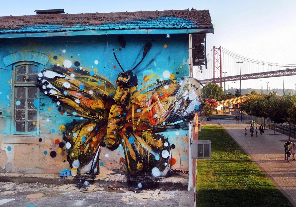 Бордэло Bordalo, превращает, скульптуры, потрясающие, животных, улицах, прямо, творя, мусору, творческое, проблему, превращается, количество, Португальский, художник, взгляде, нашел, применение, творения, Помимо