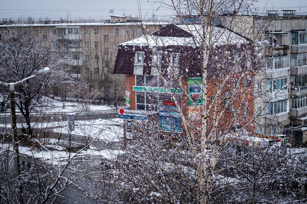 Опять снег в Златоусте