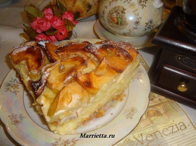 яблочный пирог15