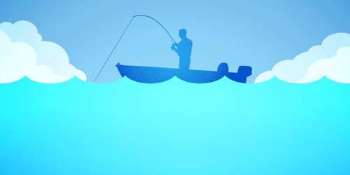 День Рыбака Анимированные Картинки Открытки gif