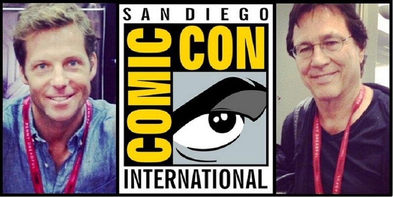 27 июля Сан-Диего Комик Кон - Джейми Бамбер и Ричард Хэтч.jpg