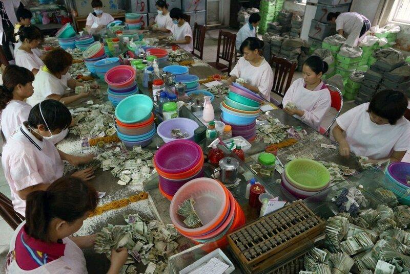 Как считают деньги за автобусные билеты в Китае