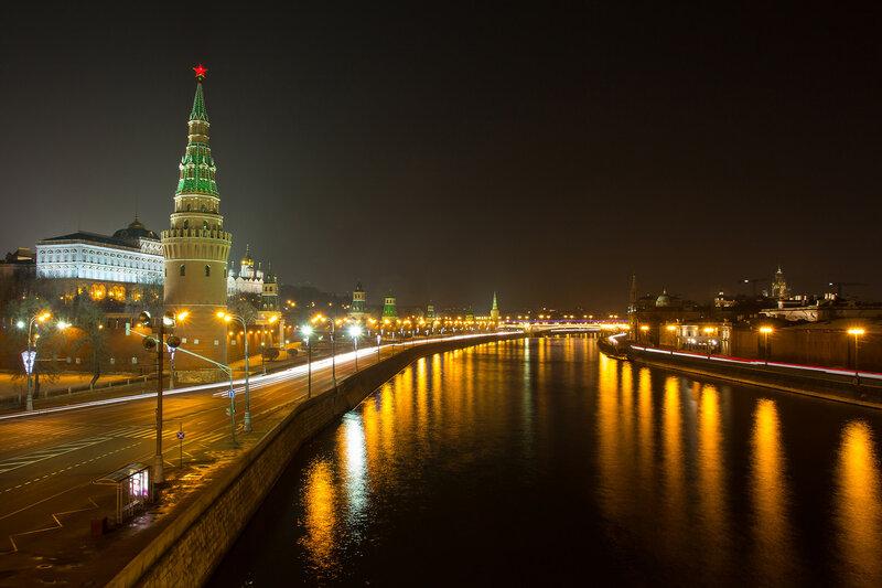 Ночь, Москва-20