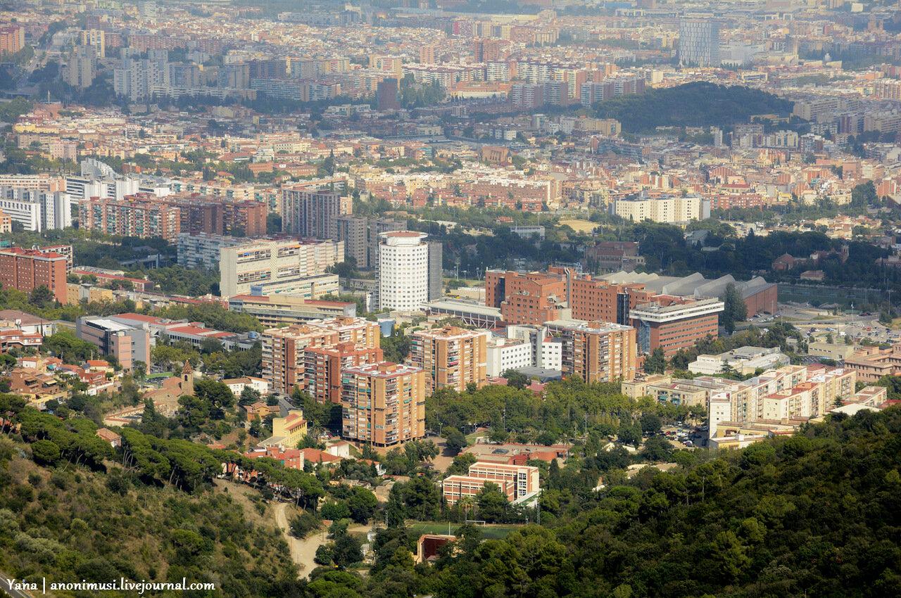 Тибидабо-Tibidabo. Барселона. Испания.