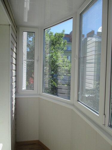 Утепленный эркерный балкон фото. - двери окна балконы - ката.