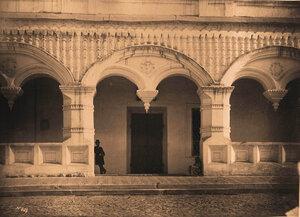 Вид на паперть Успенского собора. Астрахань г.