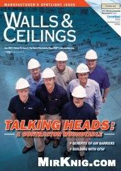 Журнал Walls & Ceilings - №6 2012