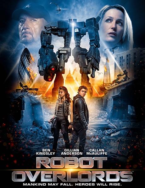 Железная схватка / Robot Overlords (2014/WEBDL/WEBDLRip)