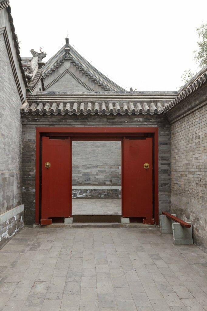 Переход между дворами, Гунванфу, Пекин