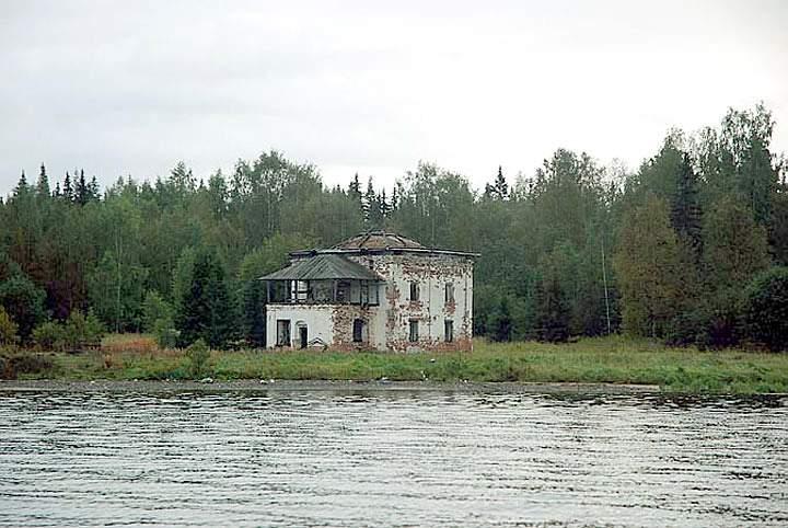 Аномальные зоны Онежского озера