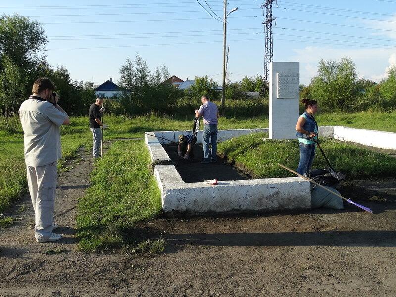 Памятник в Фатеевке