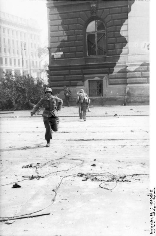 Warschauer Aufstand, Infanterie