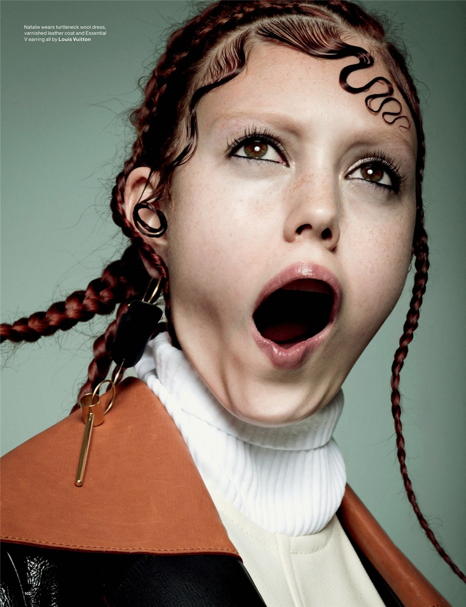 Natalie Westling / Bass by Phil Poynter - Love 12 / FW2014