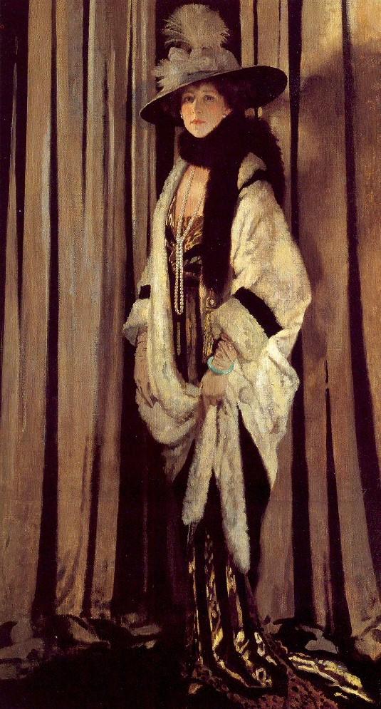 Госпожа Эвелин Сент-Джонс, 1906, Сэр Уильям Орпен