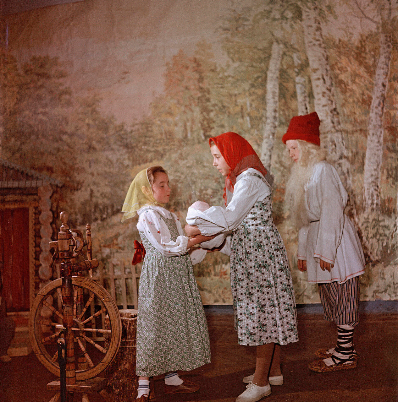 Детская опера в подмосковной школе. Опера «Гуси-лебеди»