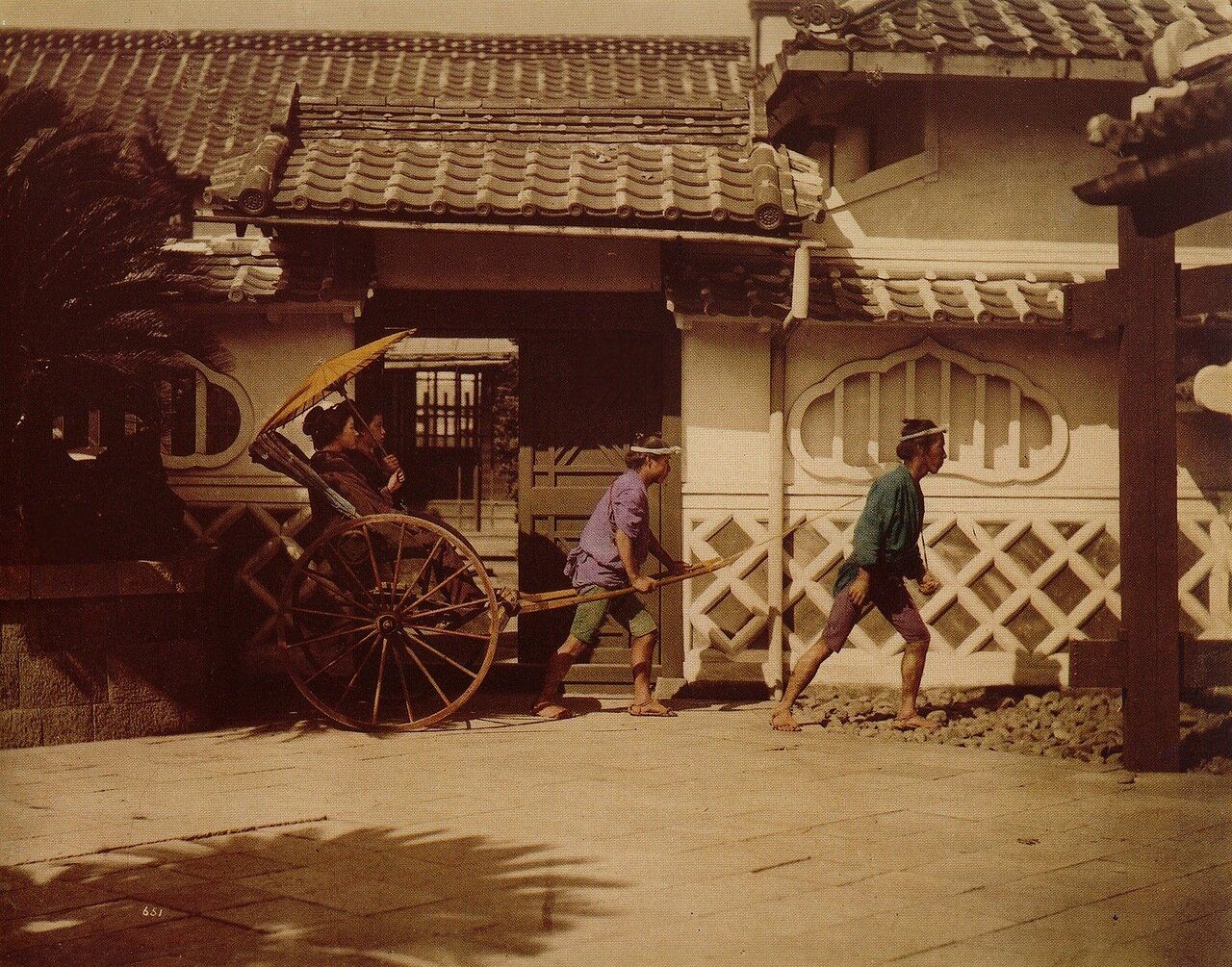 Гейши и рикши