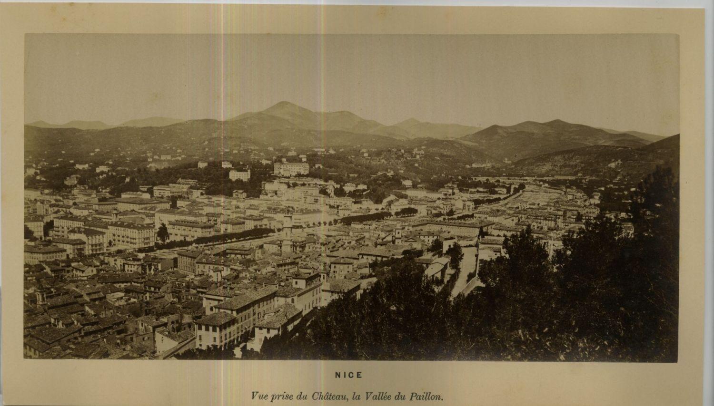 1875. Вид из Шато в долине Пайон