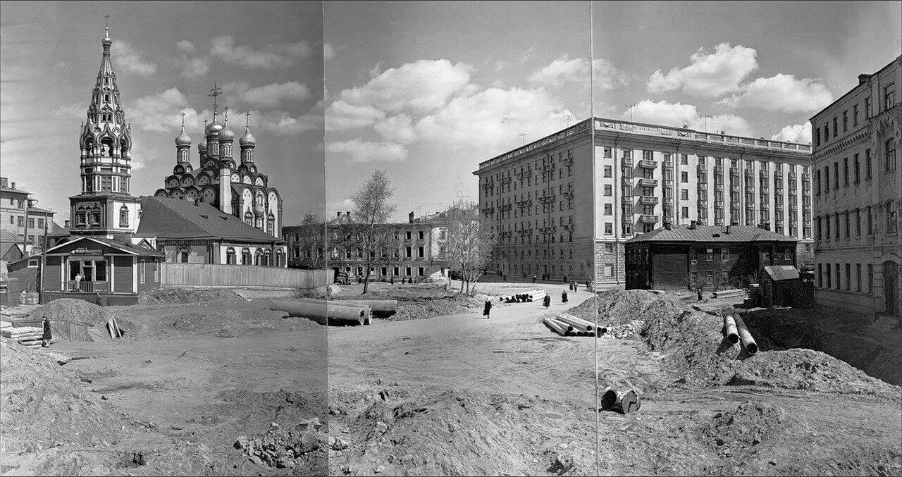 1950-е. Комсомольский проспект