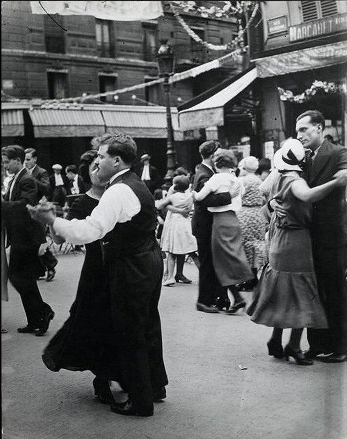 1934. Праздник 14 июля в Париже