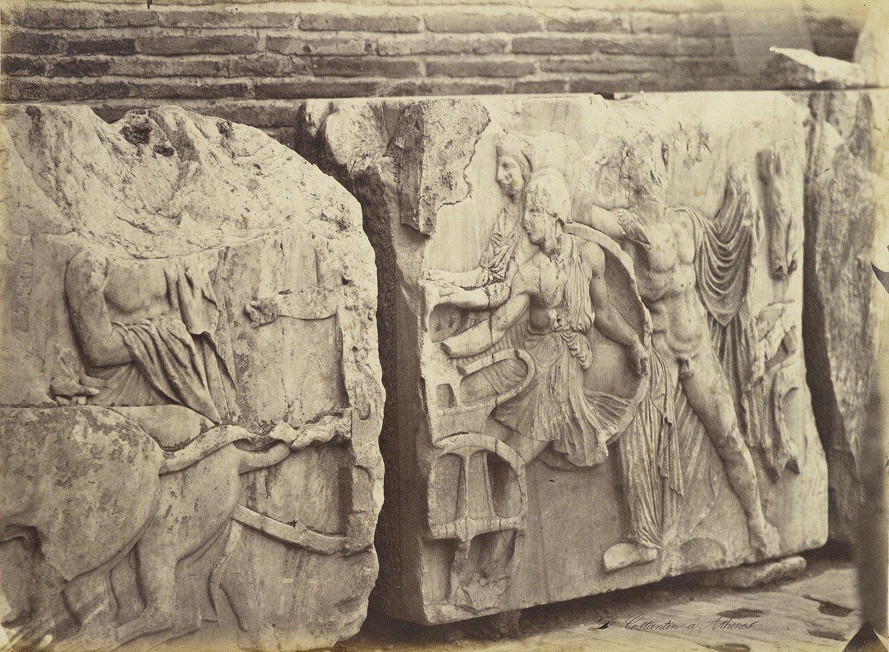 Барельеф из Парфенона. 1880-90