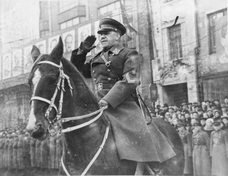 Генерал армии Г.К. Жуков, полководцы Красной Армии