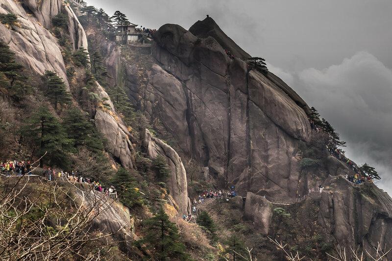 Парк Хуаншань (Желтые горы)