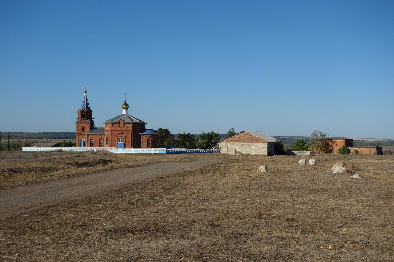 храм в слободе Шарпаевка