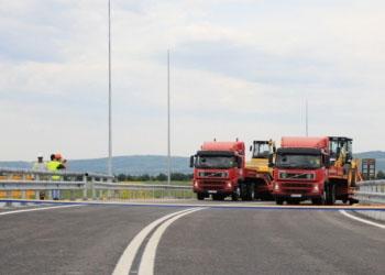 Сегодня был открыт самый крупный перекресток с мостом в Молдове
