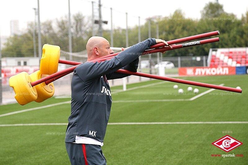 «Спартак» тренируется в Сокольниках (Фото)