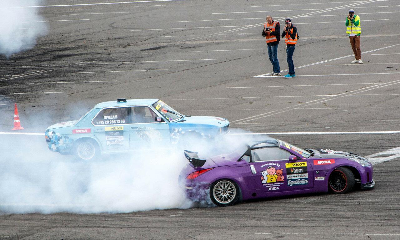 Андрей Мазин (Nissan) vs Евгений Бобров (BMW)