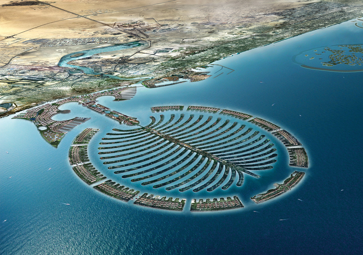 Palm shaped island dubai pictures 20 Top-Rated Tourist Attractions in Dubai PlanetWare