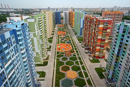 В Москве начали возводить дома новых серий