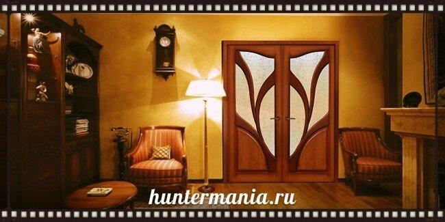 Межкомнатные двери в дизайне интерьера