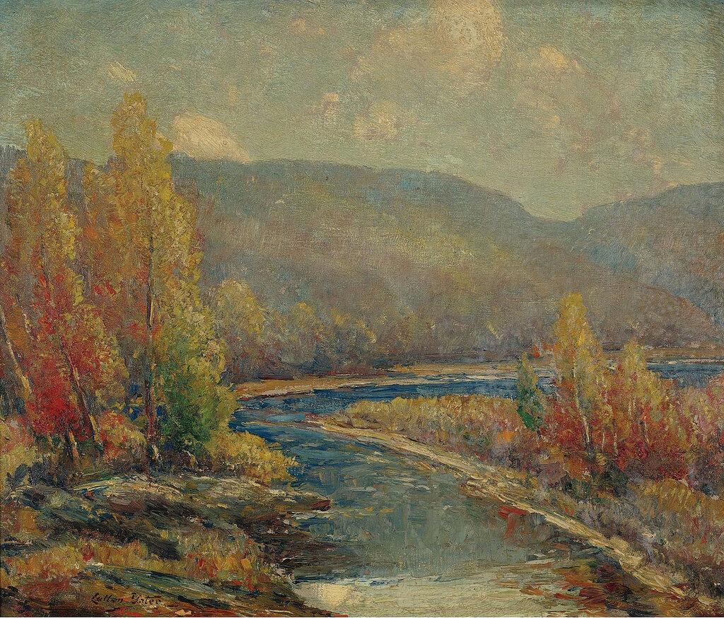 Cullen Yates - Autumn on the Delaware.jpeg