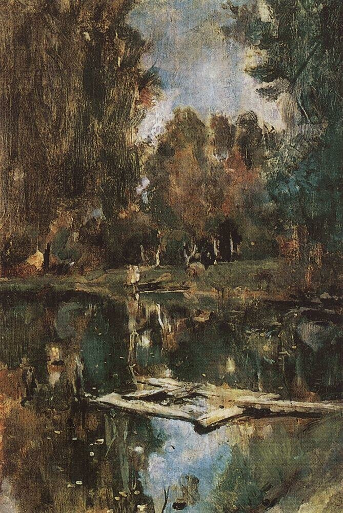 Прудик. Абрамцево. 1886.jpg