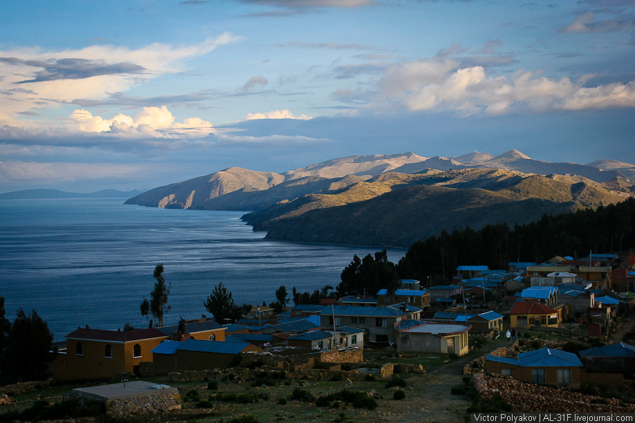 Озеро Титикака. Isla del Sol