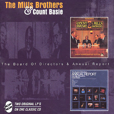 The Mills Brothers and Count Basie - The Board Of Directors + Annual Report (1998) FLAC