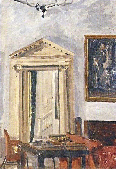 + 1922 ИнтерьерЧасть номер, с Pedimented Дверной проем.jpg
