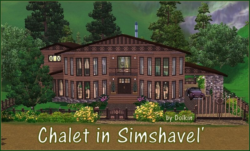 Chalet in Simshavel' by Dolkin