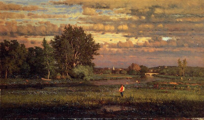 Inness George. Clearing Up