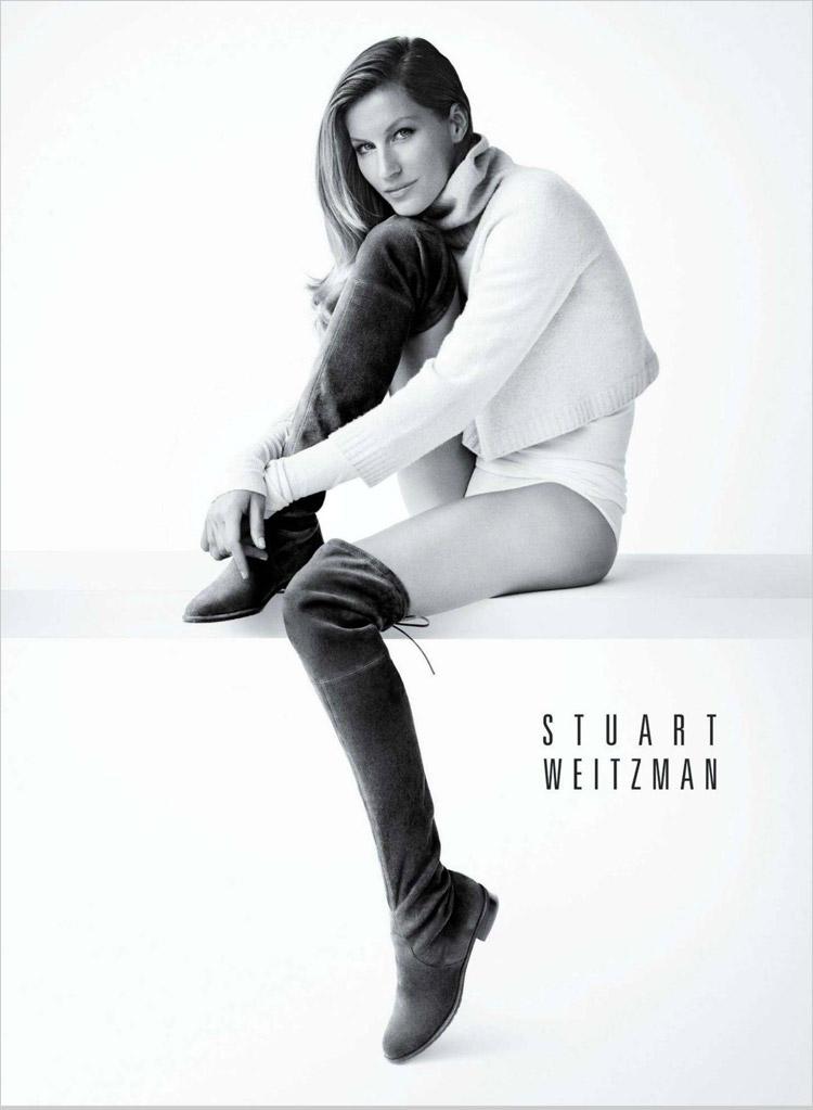 Жизель Бундхен в фотосессии для Stuart Weitzman