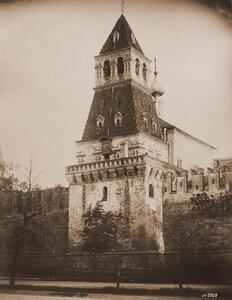 Вид Благовещенской башни Кремля. Москва г.