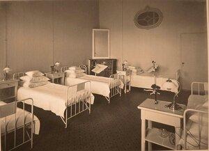 Вид части палаты № 1 в помещении госпиталя.