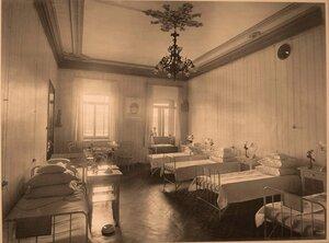 Вид части палаты № 6 госпиталя.