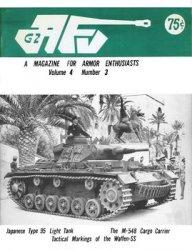 Журнал AFV-G2: A Magazine For Armor Enthusiasts Vol.4 No.03