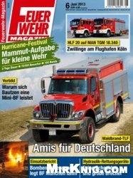Журнал Feuerwehr Magazin №6 2013