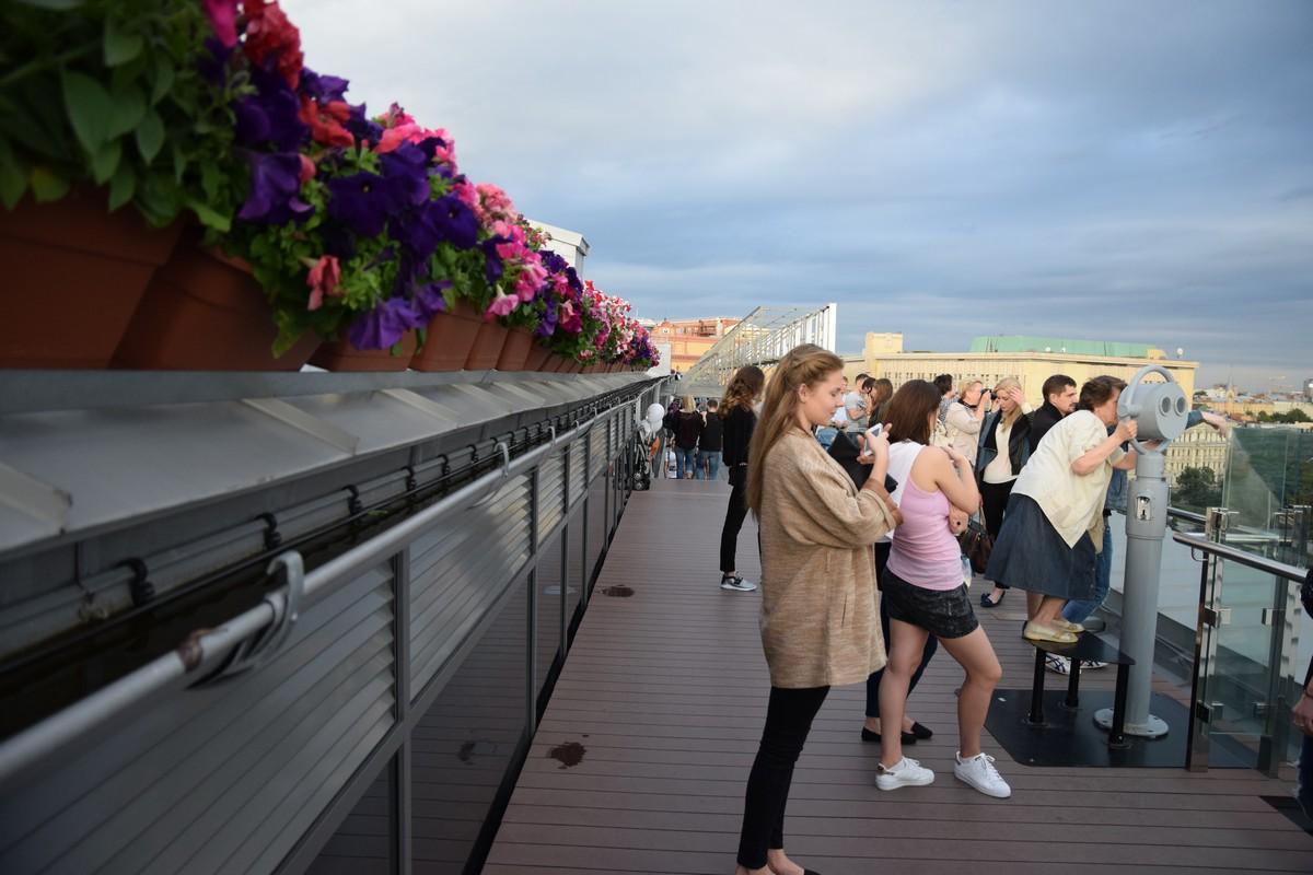 Москва с крыши Детского мира