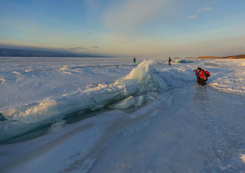 Идём по льду